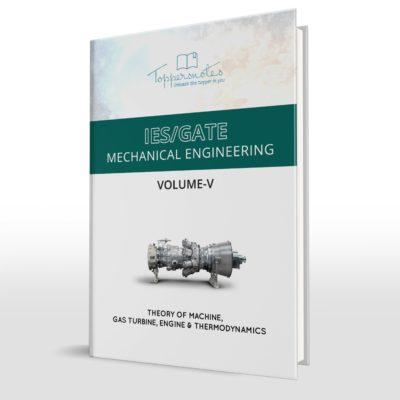 IES/GATE Hand Written Notes Theory of Machine, GAS Turbine, Engine & thermodynamics